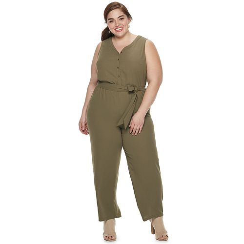 Plus Size EVRI Jumpsuit
