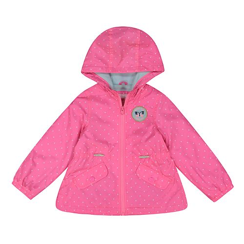 3edc3f712 Baby Girl Carter's Midweight Hooded Unicorn Jacket