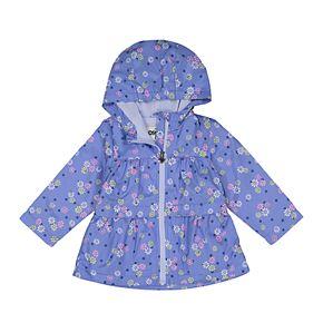 Baby Girl OshKosh B'gosh® Lightweight Floral Hooded Jacket