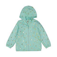 Baby Girl OshKosh B'gosh® Midweight Hooded Mermaid Jacket
