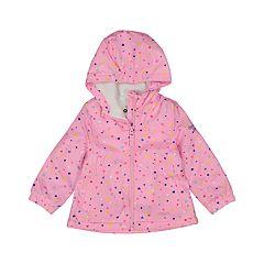 Baby Girl OshKosh B'gosh® Midweight Hooded Heart Jacket
