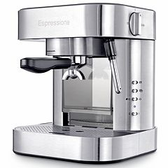 Espressione Stainless Steel Auto Pump Espresso Machine