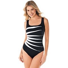 bc5a76c8beb29 Women s Great Lengths Colorblock D-Cup One-Piece Swimsuit