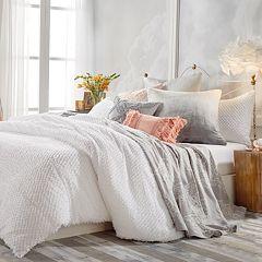 Peri Dot Fringe Comforter Set