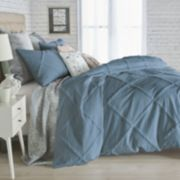 Peri Chenille Lattice Duvet Cover Set