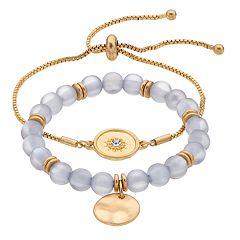 SONOMA Goods for Life™ Sun Disk Bracelet Set