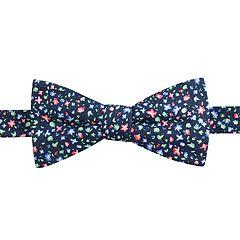 Men's Chaps Hazel Floral Linen Pre-Tied Bow Tie