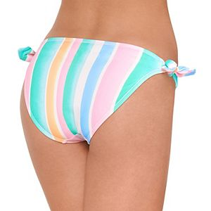 Mix and Match Side Tie Hipster Bikini Bottoms