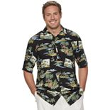 Big & Tall Batik Bay Classic-Fit Americana Casual Button-Down Shirt
