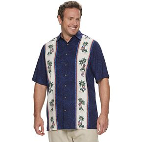 Big & Tall Batik Bay Classic-Fit Americana Casual Button-Down Shirt