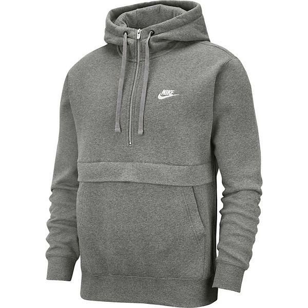 Men's Nike Sportswear Club Fleece Half Zip Hoodie