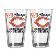 Boelter Chicago Bears Spirit Pint Glass Set