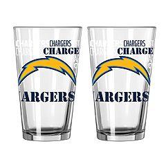 Boelter Los AngelesChargers Spirit Pint Glass Set