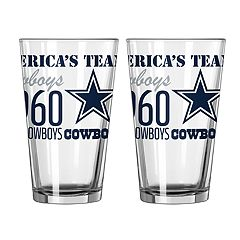 Boelter Dallas Cowboys Spirit Pint Glass Set