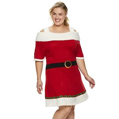 Plus Size Women's Holiday Dress