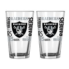 9e989d77f30 NFL Oakland Raiders Sports Fan Beer Glasses - Drinkware   Glassware ...