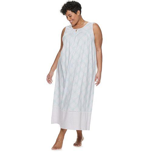 Plus Size Croft & Barrow® Sleeveless Nightgown