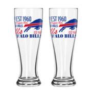 Boelter Buffalo Bills Spirit Pilsner Glass Set