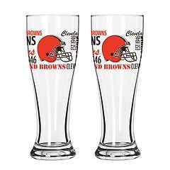 Boelter Cleveland Browns Spirit Pilsner Glass Set