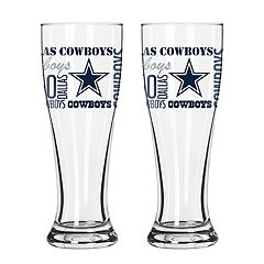 Boelter Dallas Cowboys Spirit Pilsner Glass Set