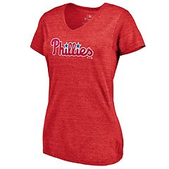 cc6a1262 Women's Philadelphia Phillies Official Wordmark Graphic Tee