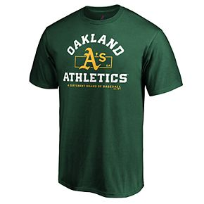 Mens Oakland Athletics Primary Objective Tee