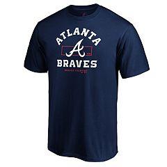 Men's Atlanta Braves Primary Objective Graphic Tee