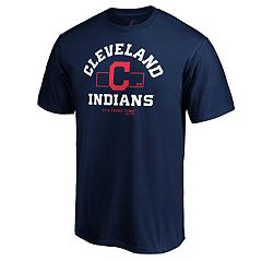 Men's Cleveland Indians Primary Objective Graphic Tee