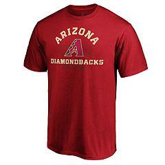 Men's Arizona Diamondbacks Primary Objective Graphic Tee