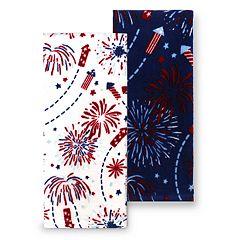 Celebrate Americana Together Fireworks Kitchen Towel 2-pk.