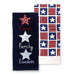 Celebrate Americana Together Friends, Family, Freedom Kitchen Towel 2-pk.