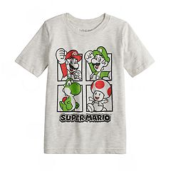 Boys 4-12 Jumping Beans® Nintendo Super Mario Bros. Grid Graphic Tee