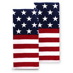 Celebrate Americana Together Stars & Stripes Kitchen Towel 2-pk.