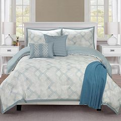 Company Ellen Tracy Reversible Berlin Comforter Set