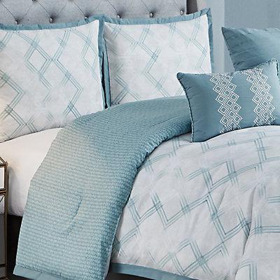 Company Ellen Tracy Reversible Berlin Comforter Set