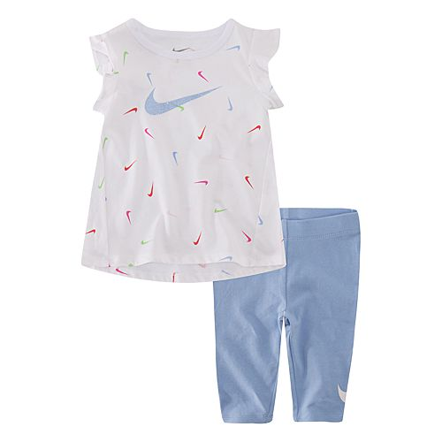 Toddler Girl Nike Tunic & Capri Leggings Set