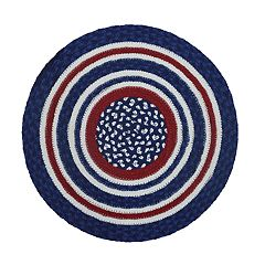 Celebrate Americana Together Braided Round Placemat