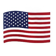 Celebrate Americana Together Quilted Flag Placemat