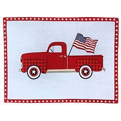 Celebrate Americana Together Truck Placemat