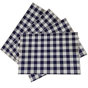 Celebrate Americana Together Gingham Placemat 4-pk.