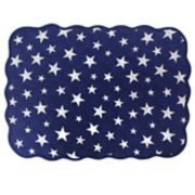 Celebrate Americana Together Quilted Stars & Stripes Placemat