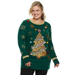 Plus Size Women's Holiday Tunic