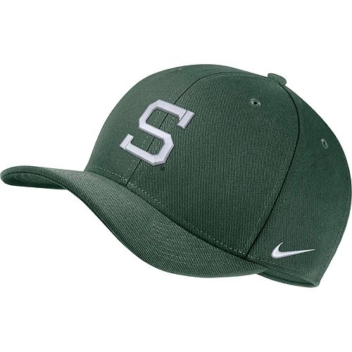 Adult Nike Michigan State Spartans Classic Flex-Fit Cap