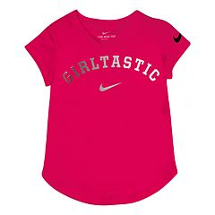 Toddler Girl Nike 'Girltastic' Foiled Graphic Tee
