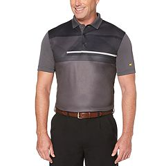 Men's Jack Nicklaus StayDri Chest-Print Performance Golf Polo
