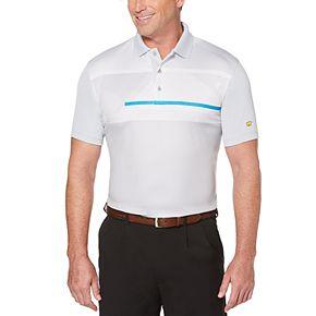 Men's Jack Nicklaus StayDri Chest-Print Performance Golf Polo