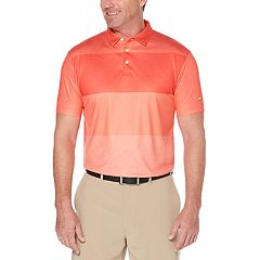 Men's Jack Nicklaus Regular-Fit StayDri Faded-Stripe Performance Golf Polo