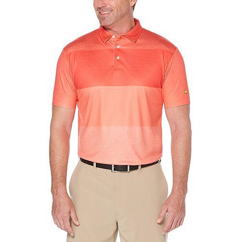 Men's Jack Nicklaus Regular-Fit StayDri Faded-Stripe Performance Golf Polo
