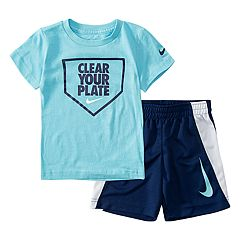 Toddler Boy Nike 2 Piece Tee & Shorts Set