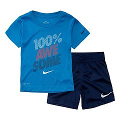 c3d263b4fa7c Toddler Boy Nike 2 Piece Tee   Shorts Set. sale